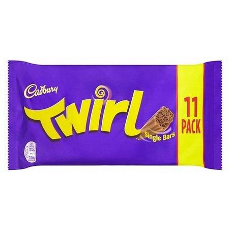 Cadbury Cadbury - Twirl Chocolate Bar 9-Pack 237 Gram