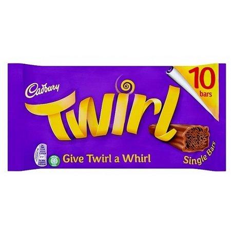 Cadbury Cadbury - Twirl 10-Pack 215 Gram