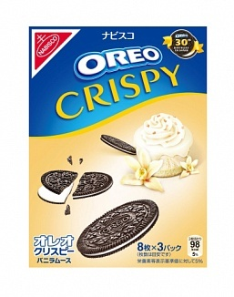 Oreo Oreo - Crispy Vanilla Mousse 154 Gram