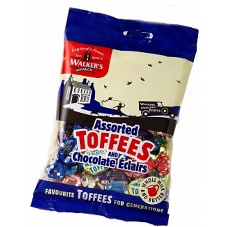 Walkers Walkers - Nonsuch Assorted Toffees & Eclairs Bag 150 Gram