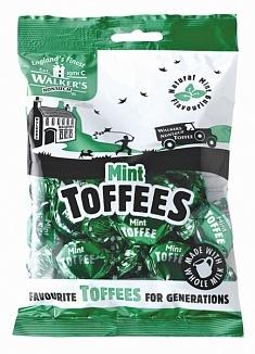 Walkers Walker - Nonsuch Mint Toffee Bag 150 Gram