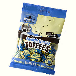 Walkers Walker - Nonsuch English Creamy Toffee Bag 150 Gram