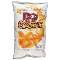 Herr's - Crunchy Cheestix Original 255 Gram