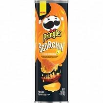 Pringles - Scorchin' Cheddar 158 Gram