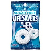 Lifesavers - Hard Candy Pep O Mint Suikervrij 78 Gram