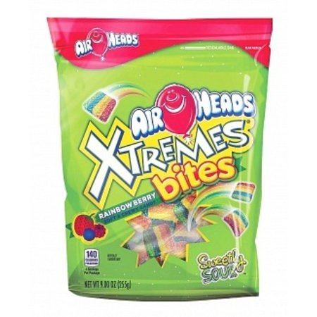 Airheads Airheads - Xtremes Bites Rainbow Berry 255 Gram