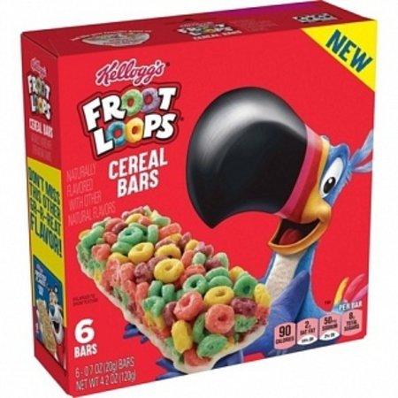 Kelloggs Kellogg's - Froot Loops Cereal Bars 120 Gram
