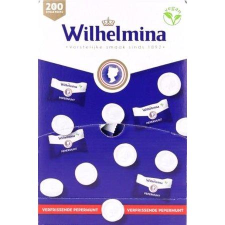 Wilhelmina Pepermunt Wilhelmina - Pepermunt 5 Gram 200 Stuks