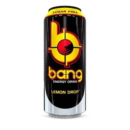 Bang Bang - Bangster Lemon Drop Energy Drink 500ml (suikervrij) 12 Blikjes