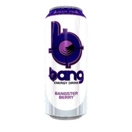 Bang Bang - Bangster Berry Energy Drink 500ml (suikervrij) 12 Blikjes