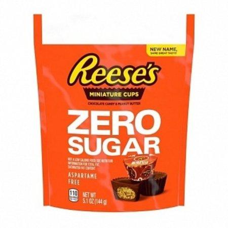 Reese's Reese's - Zero Sugar Peanut Butter Miniature Cups 145 Gram (suikervrij)
