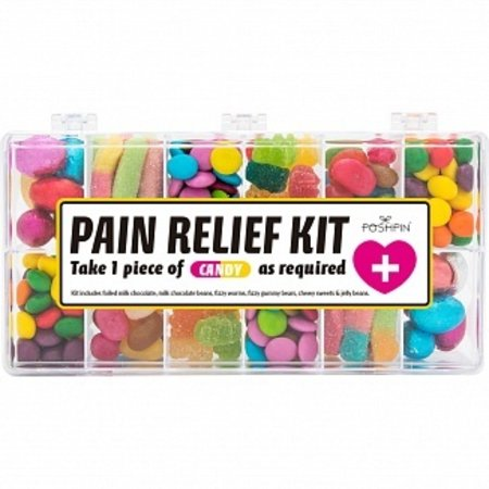 Poshpin Poshpin - Pain Relief Kit Candy Selection 428 Gram