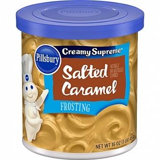 Pillsbury Pillsbury - Creamy Supreme Frosting Salted Caramel 453 Gram