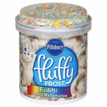 Pillsbury Pillsbury - Fluffy Frosting Funfetti Vanilla Marshmallow 340 Gram