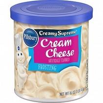 Pillsbury - Creamy Supreme Frosting Cream Cheese 453 Gram