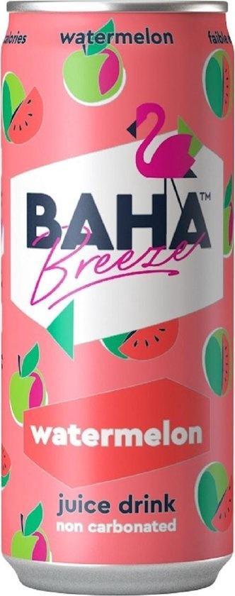 Baha Breeze Baha Breeze  - Watermelon Juice Drink 330ml