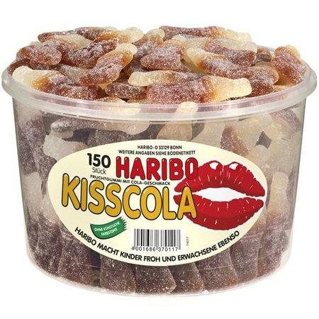 Haribo Haribo - Silo Kiss Cola 150 Stuks 1350 Gram