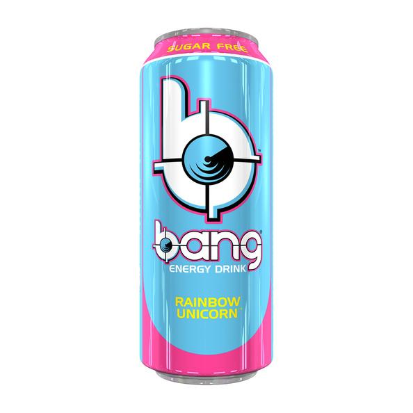 Bang Bang - Rainbow Unicorn Energy Drink 500ml (suikervrij)