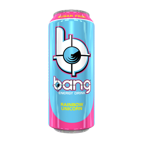 Bang Bang - Rainbow Unicorn Energy Drink 500ml (suikervrij) 12 Blikjes