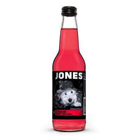 Jones Soda Jones Soda - Strawberry Lime 355ml