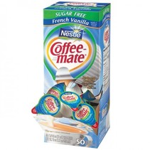 Coffeemate - Single Serve Creamers French Vanilla  50 Stuks (suikervrij)