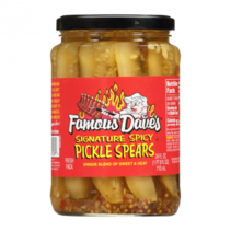 Famous Dave's - Signature Spicy Pickle Spears 710ml