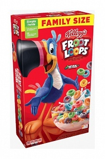 Kelloggs Kellogg's -Froot Loops Cereal Family Size 550 Gram
