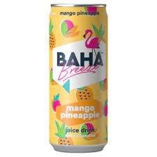Baha Breeze Baha Breeze - Mango Pineapple Juice Drink 330ml
