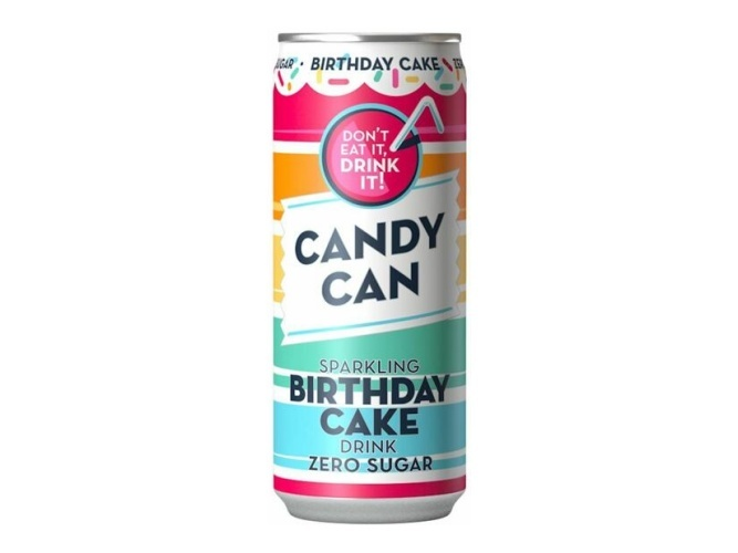 Candy Can Candy Can -Sparkling Birthday Cake Zero Sugar 330ml