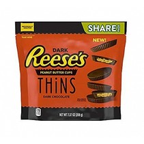 Reese's - Peanut Butter Cups Thins Dark 209 Gram