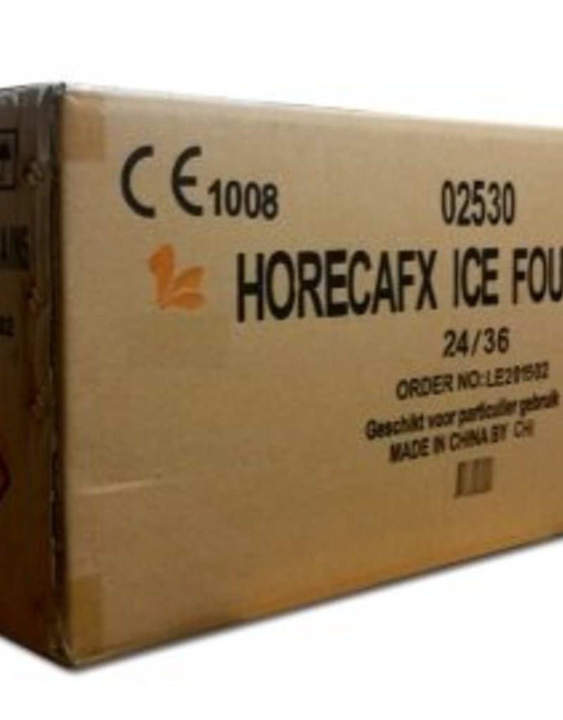 Horeca ijsfonteinen karton (24x36 stuks)