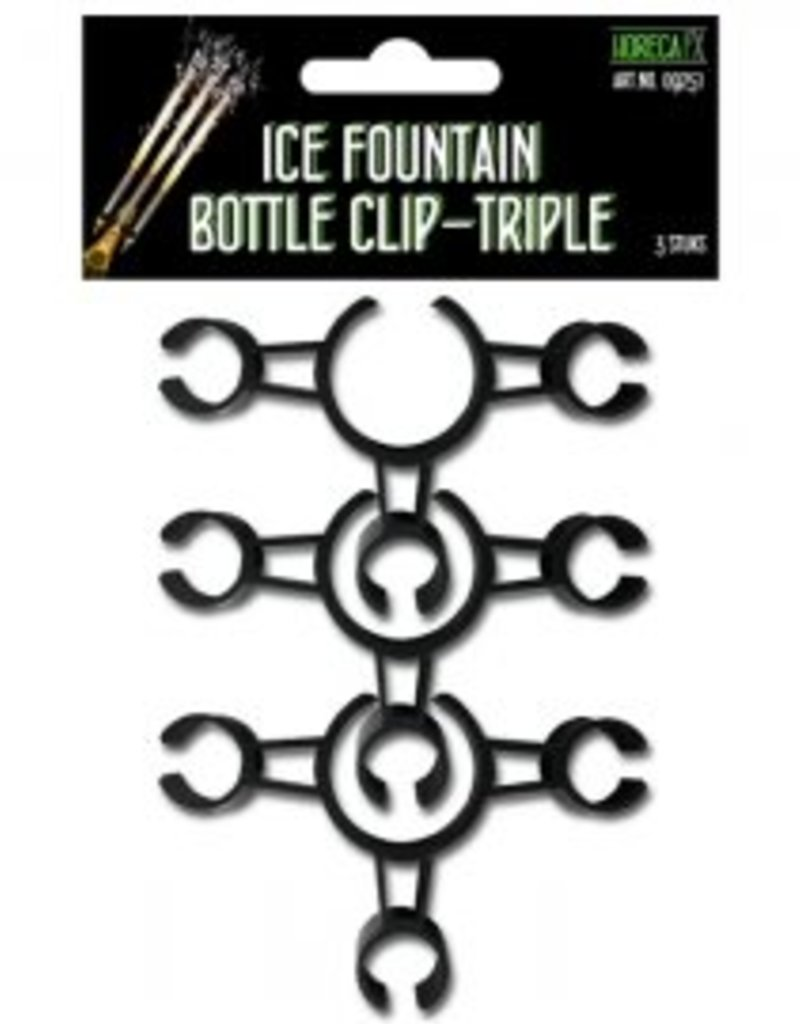 ijsfontein bottle clip triple