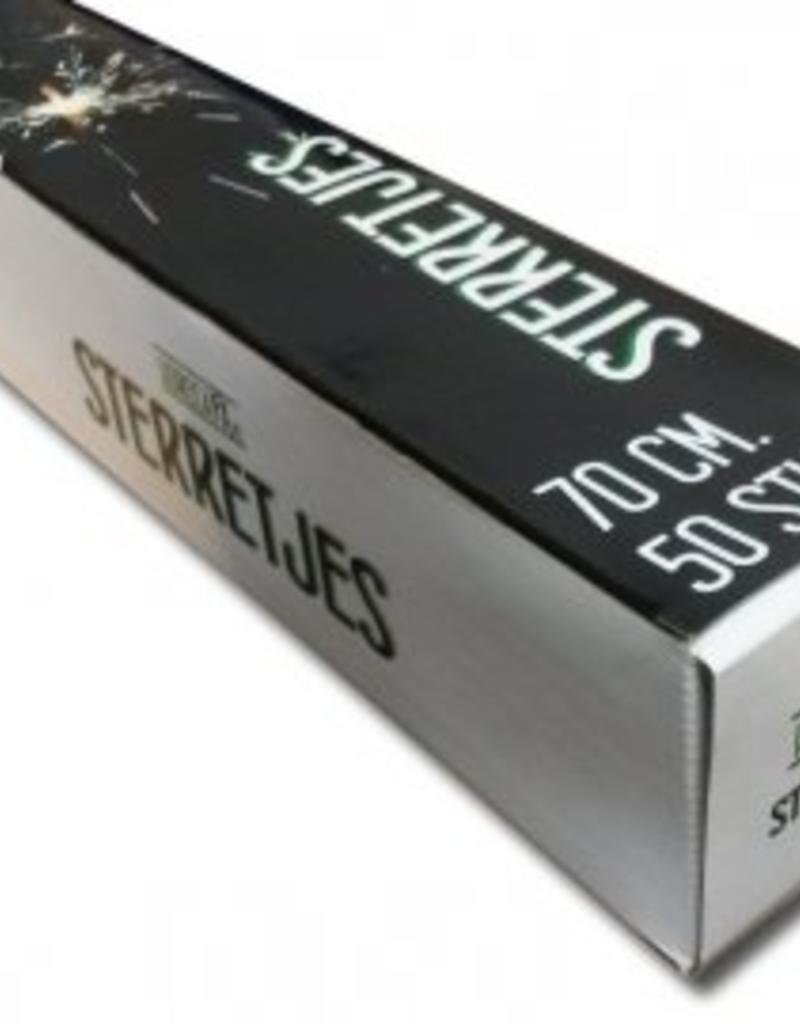 Sterrentjes 70 cm Karton (6*50 stuks) aanbieding