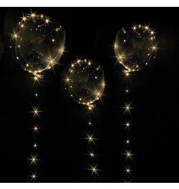Lichtgevend LED ballon - 30 LED - Uniek voor elk feest -