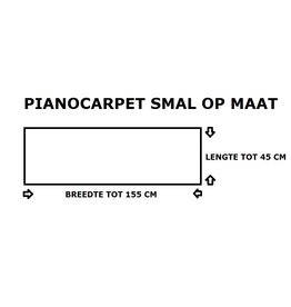 Pianocarpet Pianocarpet small custom made