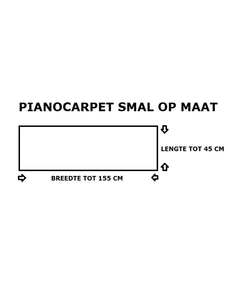 Pianocarpet Pianocarpet Schmal nach Maß