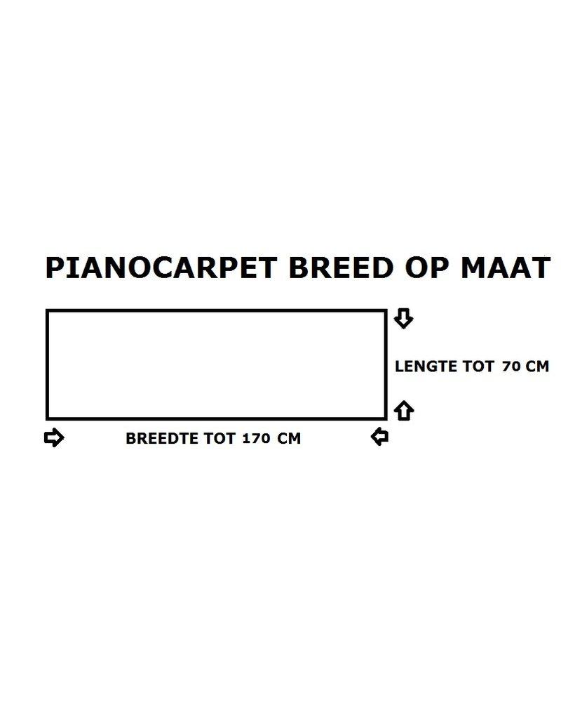 Pianocarpet Pianocarpet Breed op maat