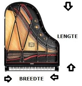 Pianocarpet Flügelcarpet nach Maß