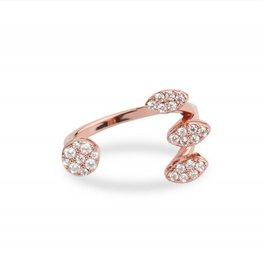 Mya Bay Ring - Magic LOVE, with stones - Goud / Rosé