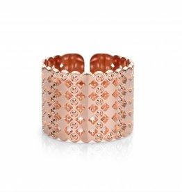 Mya Bay Ring - Beaded bubbles - Rosé