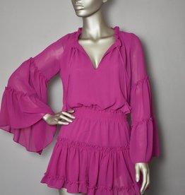 MISA Jurk - Hot Pink