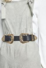 B-low the belt Riem Bri Bri black/gold