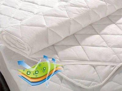 Matrasbeschermer katoen - waterdicht ademend