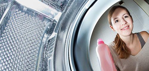 Wasmachine gordijnen