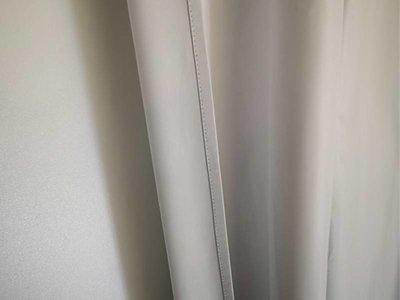 ALBA Lichtdicht isolerend gordijn WIT met plooiband