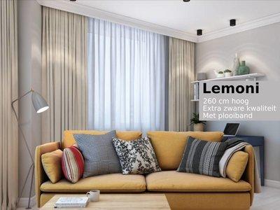 LEMONI kamerhoge lichtdichte gordijnen van extra zware kwaliteit
