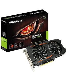 Gigabyte Carte Graphique GTX1050 TI  Windforce 4Go