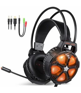 Casque EasySMX Cool 2000 Noir / Orange