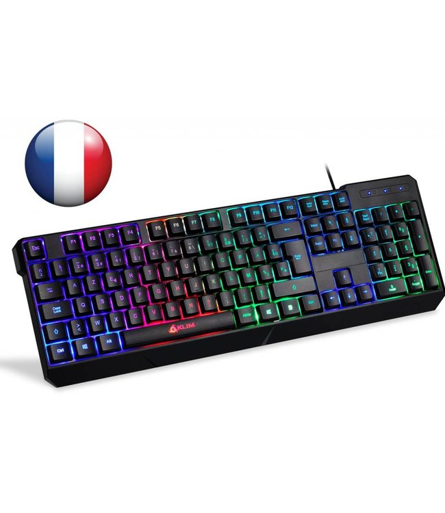 Clavier Gamer Klim Chroma RGB Version 2018 Windows / Mac / PS4