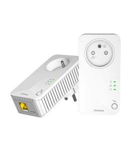 Kit CPL Strong 500 Mbit/s Avec Prise
